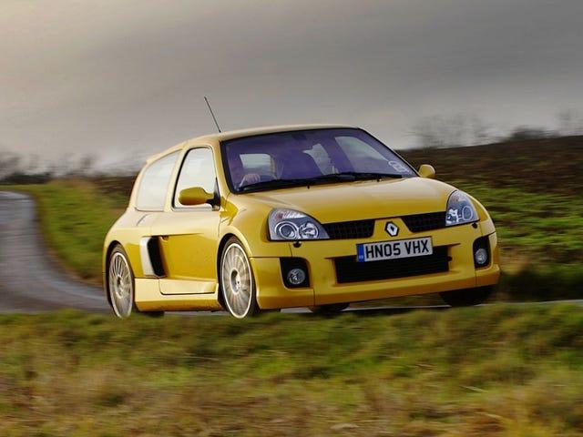 The Clio V6 Renault Sport