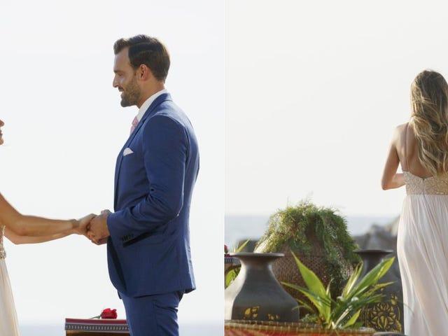 Op <i>The Bachelorette</i> Finale, JoJo Picked Her Man, en de Show Picked de Tabloids