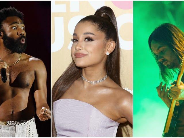 Childish Gambino, Ariana Grande, Tame Impala gobernarán como cabezas de cartel en Coachella de este año