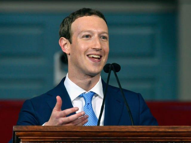 Inilah Kesaksian Tertulis Mark Zuckerberg untuk Kongres