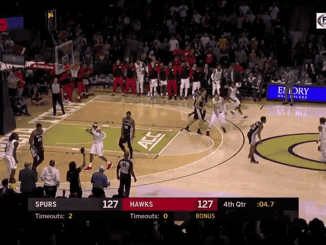 Trae Young Did A Very Trae Young Thing To Beat The Spurs