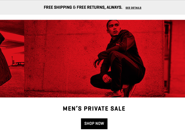 Pounce On PUMA's Deals During Their Huge Private Sale