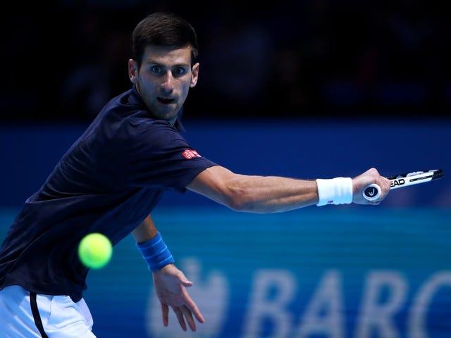 Novak Djokovic Survives Milos Raonic Bilang Siya Pinagmulan Nangungunang Ranking