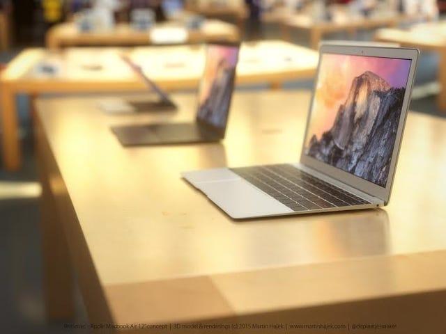 Що чутка 12-дюймовий MacBook Air може бути Stunner