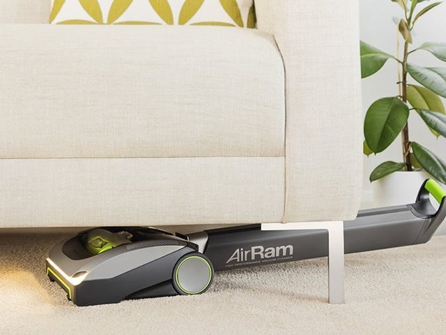 This Cordless Vacuum Can Clean Under Your Furniture Without Moving It - Save $40 Today