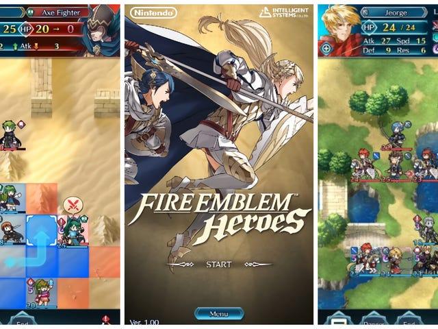 <i>Fire Emblem: Heroes</i> adalah pemain Nintendo untuk telefon pintar (dan pada febrero)