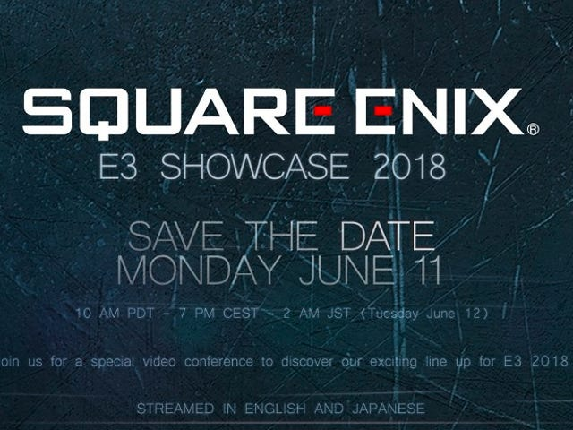 Square Enix Will Hold An E3 Conference This Year
