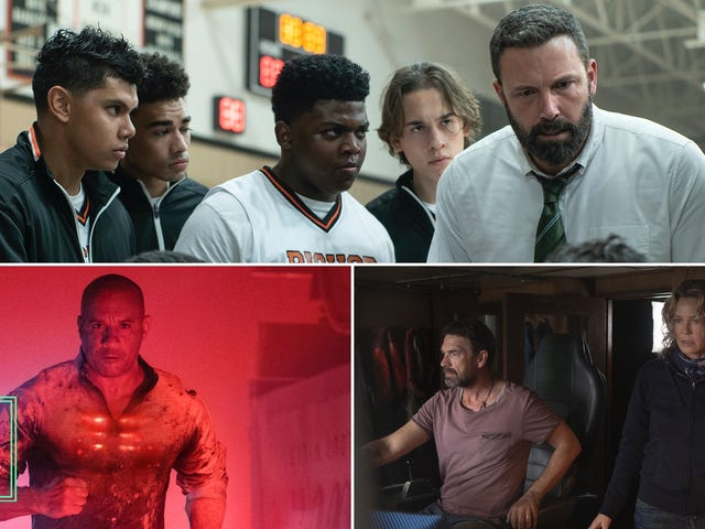 Our critics review Sea Fever, Bloodshot, and The Way Back for your at-home weekend viewing