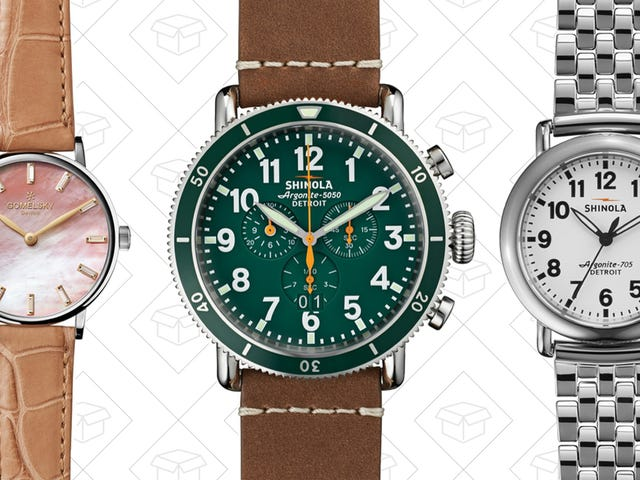 It's About Time You Headed Over to Nordstrom Rack for This Shinola Sale