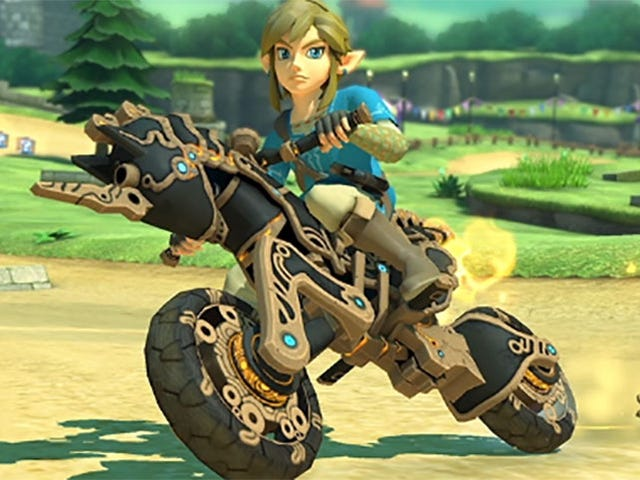 Breath Of The Wild Comes To Mario Kart 8 Deluxe