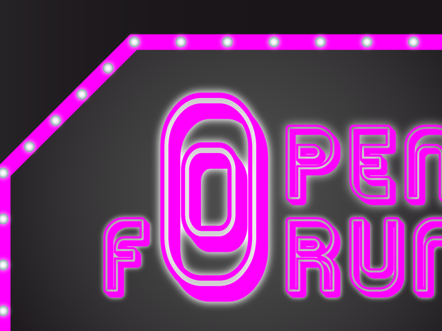 Open Forum: Here I Go Again