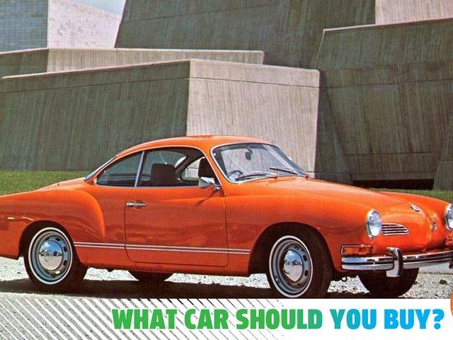 Quero um Karmann-Ghia, mas preciso de um Honda Civic! Que carro devo comprar?
