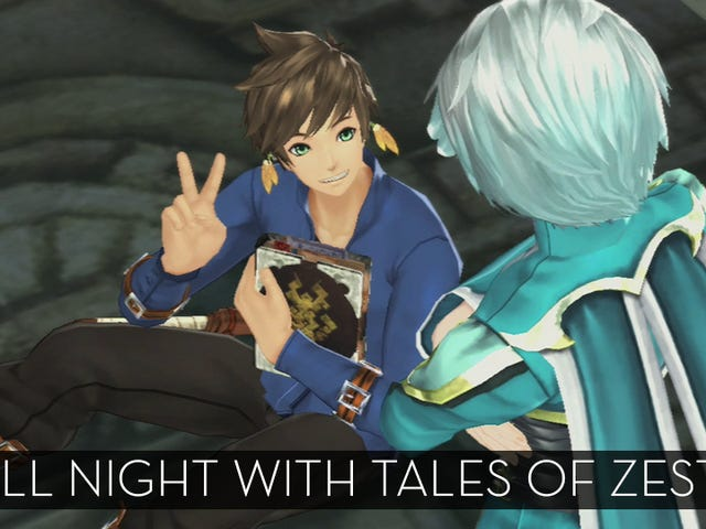 The Up All Night Stream Plays Tales of Zestiria [Finished]