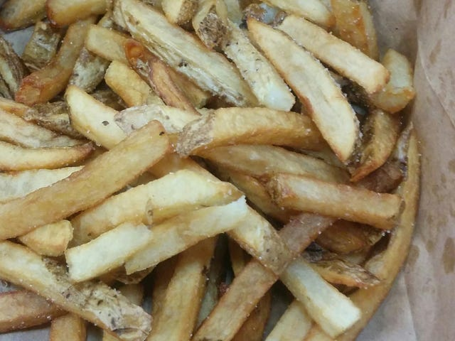 French Fries: 5 Guys: Okay, maybe not best, but...