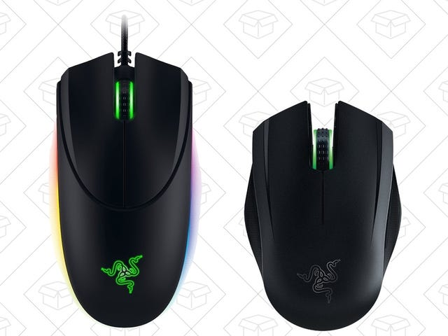 Razer's Knocking a Pair of Gaming Mice Down to $40 Each
