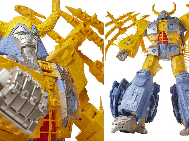Stare in Awe and Wonder at This Gigantic $ 575 Transformers Unicron Figure