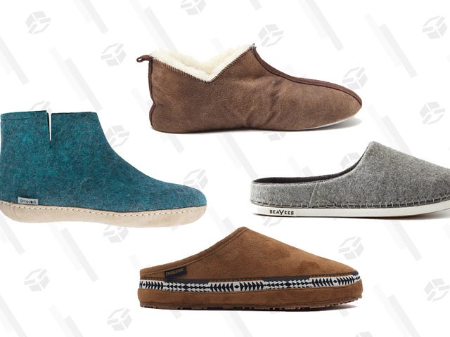 Shuffle Over to Huckberry, Where You Can Save up to 30% On Slippers