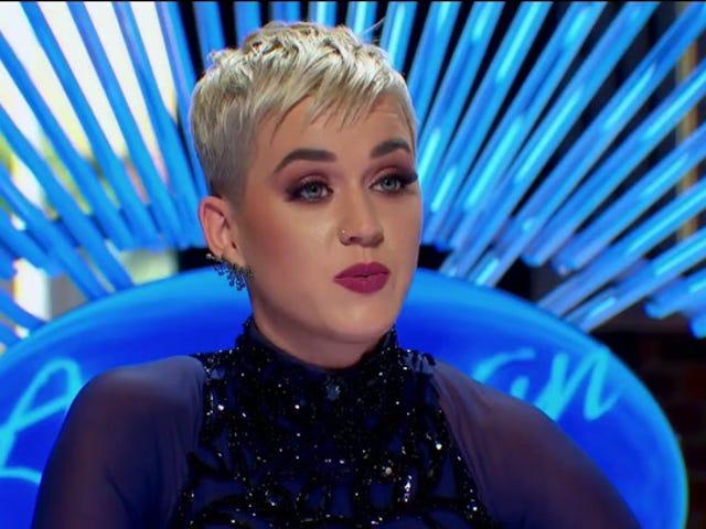 ケイティペリーは、彼女の新しい<i>American Idol</i>プラットフォームを使用して、誓いの敵テイラースウィフト