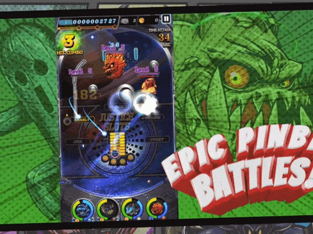 <i>Final Fantasy XV</i> Mobile Pinball Thing Is Out