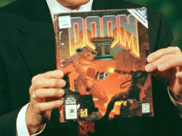 Someone made the original Doomlook like its righteous box art