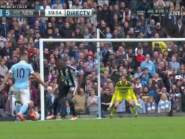Sergio Agüero går Supernova, Scores 5 mål i 20 minutter