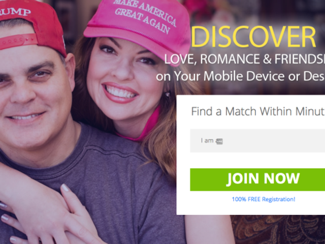 The Guy in That Trump Dating Site Ad Has a Child Sex Conviction