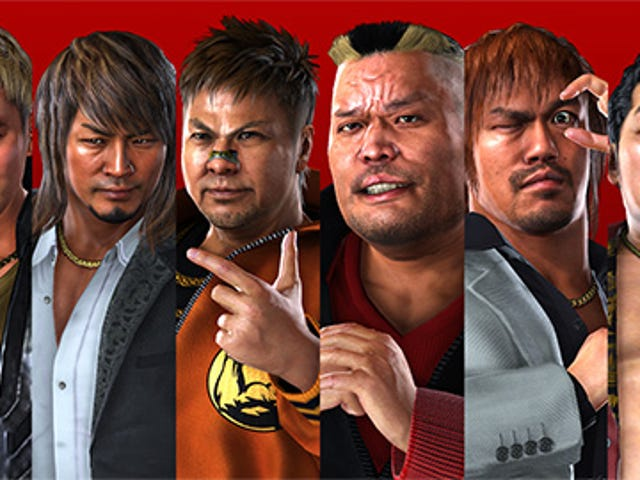 Pro wrestling is in a lot of games, except in pro wrestling games