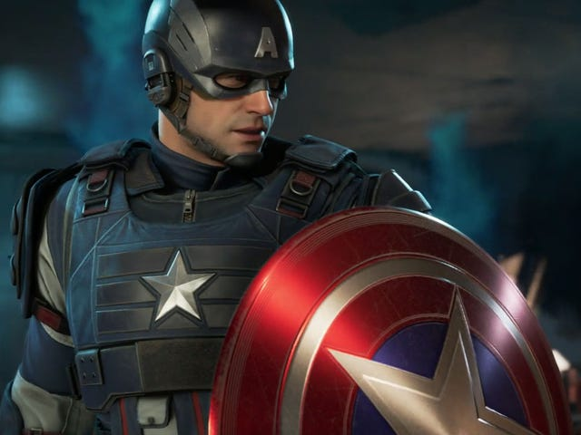 Our First Look At The New Avengers Video Game