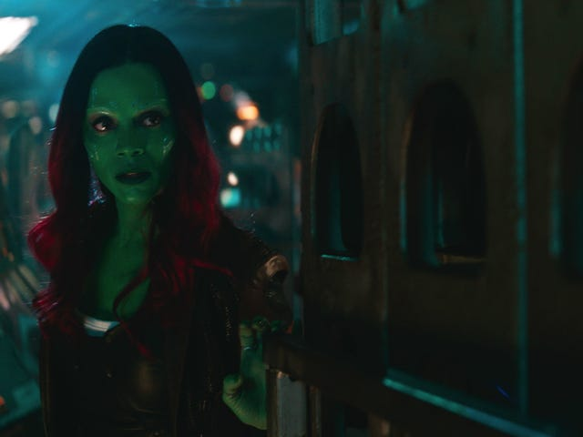 Infinity War's Zoe Saldana Talks All About Gamora's Big Storyline