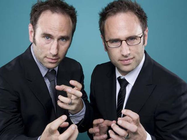 The Sklar Brothers on the creepiness of twins and being one comedic voice