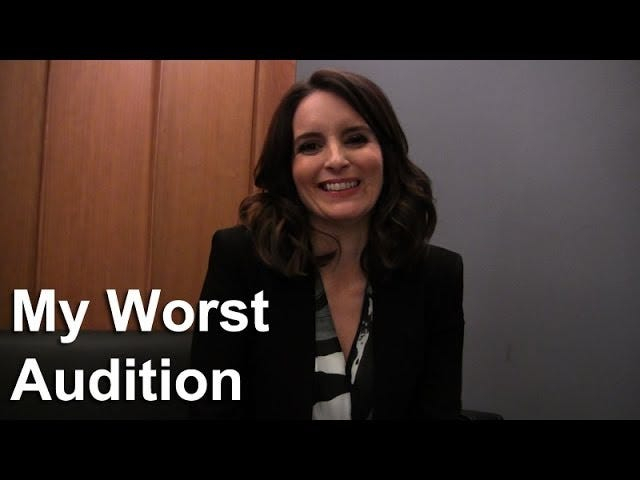 Tina Fey's Worst Audition Ever Sounds Pretty Damn Terrible