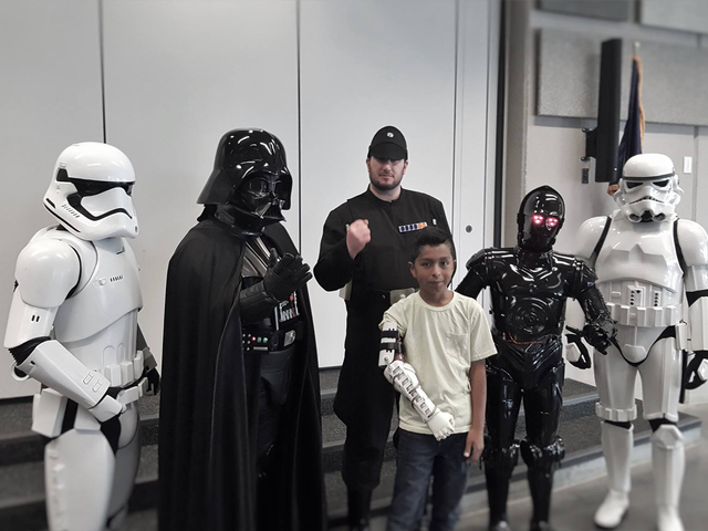Darth Vader Delivered A 3D Printed Arm To Boy In Need