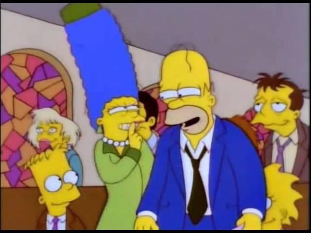 Fortsatt en av mine favoritt Simpsons scener