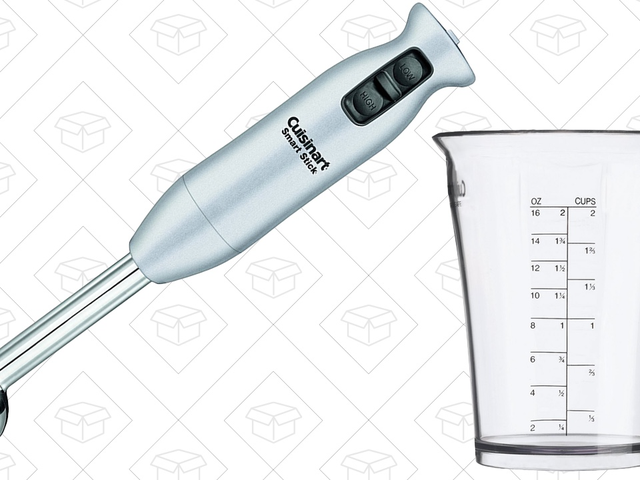 Start Blending In Any Container With This Discounted Cuisinart Stick Blender