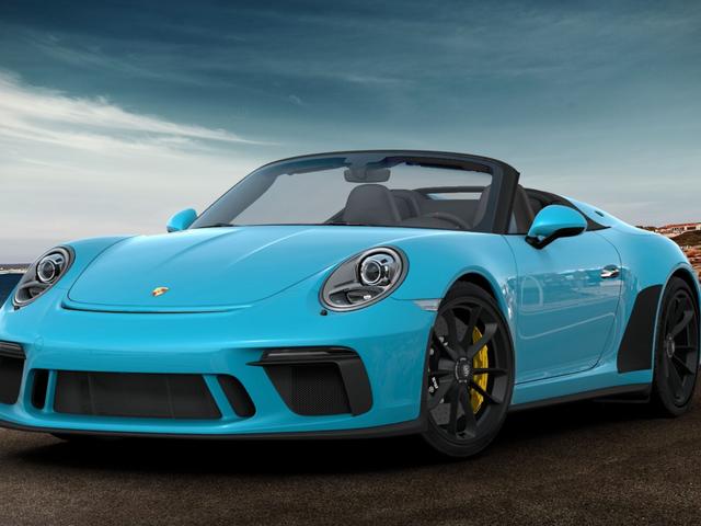 Hvordan ville du konfigurere din Porsche 911 Speedster, hvis du ikke var for brudt til at købe en?