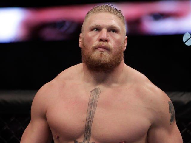 Brock Lesnar UFC İle Yaptığını İtiraf Ediyor, Profesyonel Bir Güreşçi Kalacak