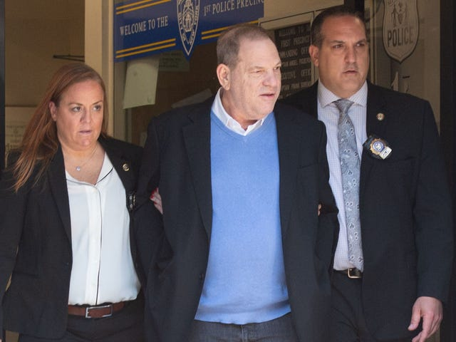 Harvey Weinstein arrested, formally charged with rape