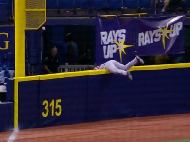Andrew Benintendi May Have Just Made The Catch Of The Season