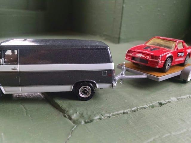 BaDT: MBX IROC Camaro på en '77 Chevy G20 Van Hitch og Tow