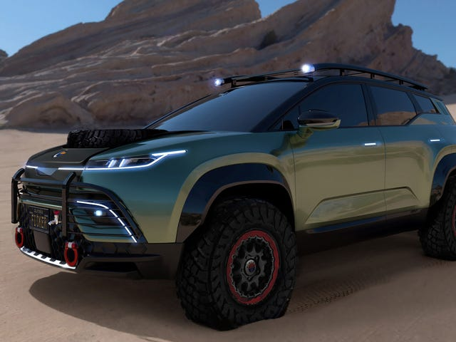 Fisker Is Aiming For A UN Contract With The Ocean Force E Off-Road Package