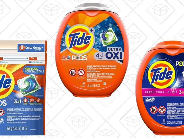 Try Not to Salivate At Amazon's Tide Pods Deal