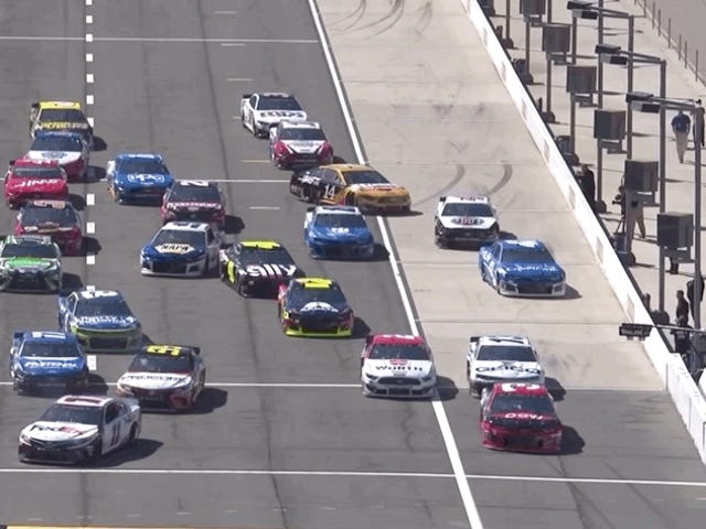 NASCAR palaa yhden auton karsimiseen järjestelmien viikossa