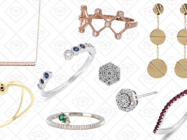 Something Shiny From This Nordstrom Rack Jewelry Sale Will Work For Valentine's Day