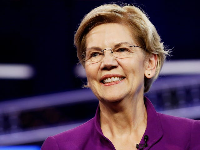 It Was Elizabeth Warren's Night