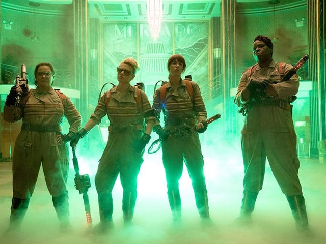 Here's Your First Official Look at the New Ghostbusters