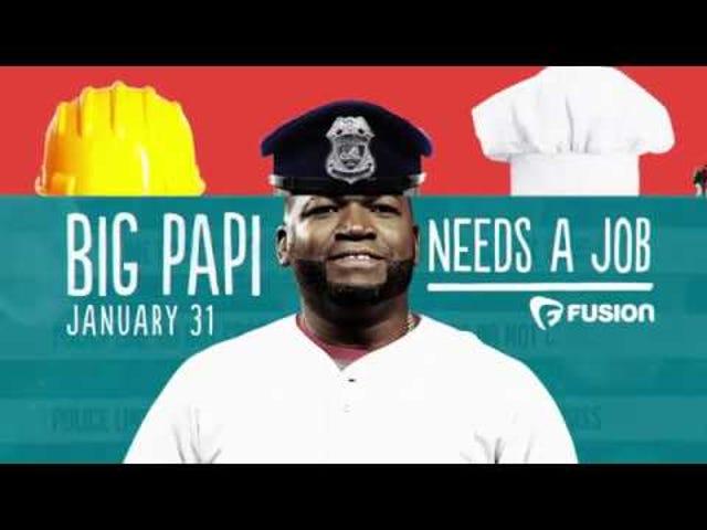 Honkbal Legende David 'Big Papi' Ortiz komt voor nieuwe series over FUSION