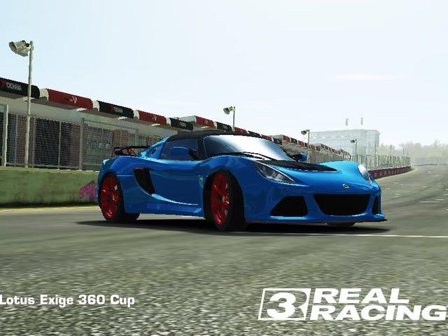 Lotus et Real Racing 3 vont bien ensemble