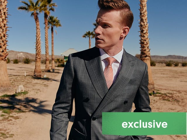 Turn Heads This Wedding Season With a Completely Unique, Perfectly Tailored Suit From $289 [Exclusive]