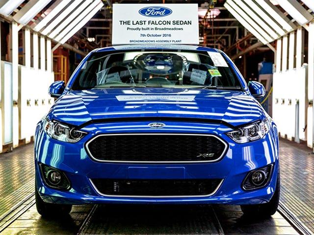 これはオーストラリアで行われた最後のフォードです