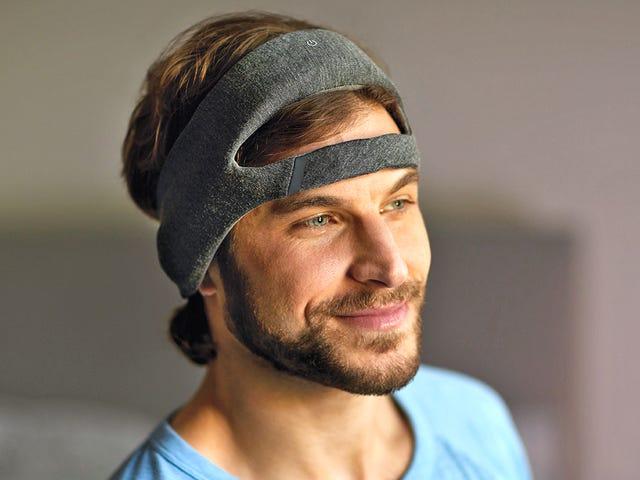 La nuova fascia per capelli di Philips promette un sonno migliore sussurrando all'orecchio per tutta la notte